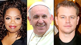 Pope Francis Summons Oprah Winfrey and Matt Damon to the Vatican