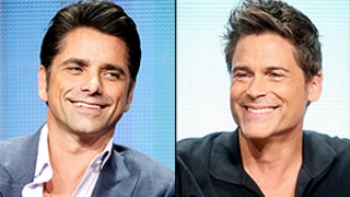 John Stamos Heckles Rob Lowe, Reveals Secret Love Affair: