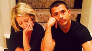 Kelly Ripa Shares Funny Pic of Mark Consuelos Also in Cast: