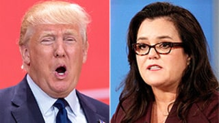 Donald Trump Disses Rosie O'Donnell With Controversial Joke at GOP Debate