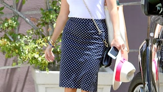 Reese Witherspoon's Polka-Dot Skirt