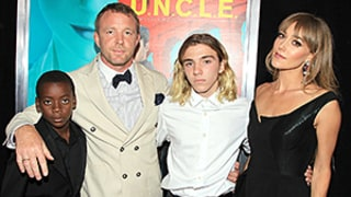 Guy Ritchie, Jacqui Ainsley Are a Picture-Perfect Family With Grown-Up Rocco and David on the Red Carpet