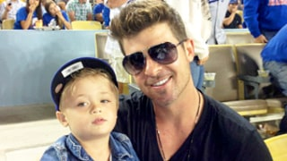 Robin Thicke on Life After Paula Patton: My Son Julian