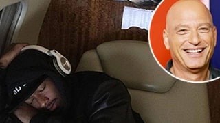 Howie Mandel Surprises Sleeping Nick Cannon With Mariah Carey Collage: Amazing Photo!