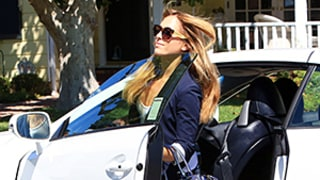 Ben Affleck's Ex-Nanny Christine Ouzounian Zips Around in Brand-New Lexus Convertible: Photos