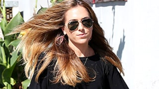Ben Affleck's Ex-Nanny Christine Ouzounian Visits Her Parents in New Lexus Convertible: Photos
