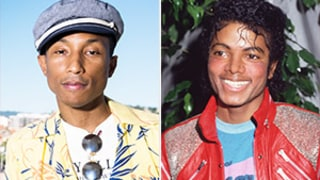 Pharrell Williams Reveals Michael Jackson Was Into Tall Brazilian Women -- Watch!