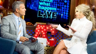 Andy Cohen Confronts Kim Zolciak, Thinks She's Hiding Plastic Surgery on Her Face