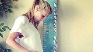 Heather Morris Announces Second Pregnancy With Cute Baby Bump Picture!