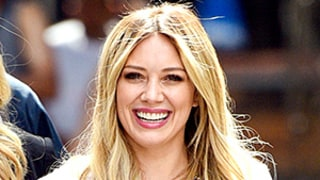 Hilary Duff Works Lizzie McGuire Overalls Like the Pro She Is