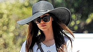 Megan Fox Photographed for the First Time Since Divorce Announcement Without Wedding Ring (But With a Giant Floppy Hat)