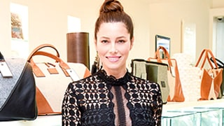 Jessica Biel Shows Off Her Slim Post-Baby Body in a Sheer Blouse During Rare Outing: See the Style Photos!