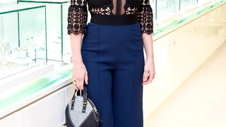 Jessica Biel: BARE Handbag Fall 2015 Launch