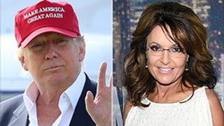 Donald Trump Gets Interviewed by Sarah Palin, Says She's a