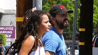 Shia LaBeouf Holds Hands With New Girlfriend Sasha Lane: Photo