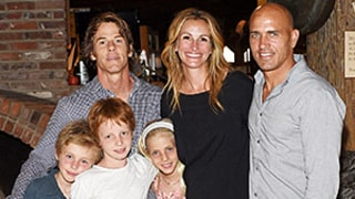 Julia Roberts Poses With Cute Kids, Husband Danny Moder at Event: Sweet Family Photo