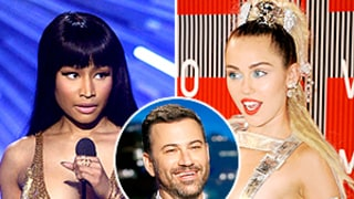 Jimmy Kimmel Explains the Nicki Minaj, Miley Cyrus Feud in Emojis: Funny Video!