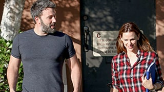 Ben Affleck, Jennifer Garner Spotted Smiling Together After Split, Nanny Drama: Photos