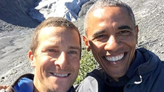 President Barack Obama Eats Bloody Salmon With Bear Grylls on Running Wild Preview: Watch!