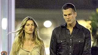 Tom Brady, Gisele Bundchen Hold Hands After