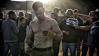 Matt Damon Is Ripped, Hotter Than Ever on the Set of the New Bourne Movie: Picture