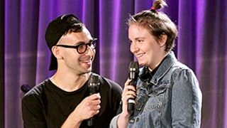 Celeb Sightings: Lena Dunham, Boyfriend Jack Antonoff Look So In Love!