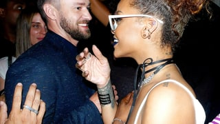 Justin Timberlake and Rihanna
