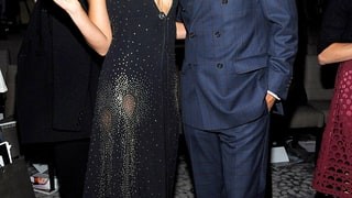 Lily Aldridge and Tony Goldwyn