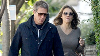 Hugh Grant, Elizabeth Hurley Reunite 15 Years After Their Split: Pics