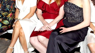 Alicia Silverstone, Christina Hendricks, and Laura Prepon