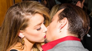 Johnny Depp Packs on PDA With Amber Heard at TIFF Film Premiere: Photos