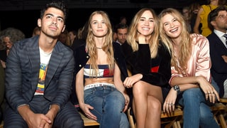 Joe Jonas, Immy Waterhouse, Suki Waterhouse, and Behati Prinsloo
