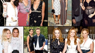 Stars At Fashion Week 2015