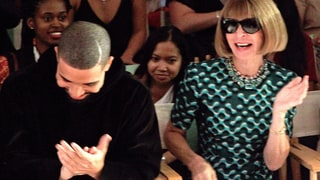 Drake and Anna Wintour