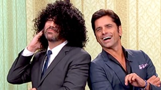 John Stamos and Jimmy Kimmel Act Out Imaginary Sitcom Opening Credits