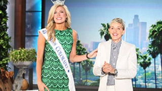Miss Colorado Kelley Johnson Explains Her Miss America Nurse Monologue to Ellen DeGeneres