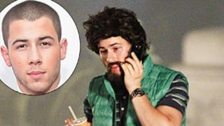 Nick Jonas Looks Unrecognizable With Giant Beard, Long Hair on Scream Queens Set: Photo