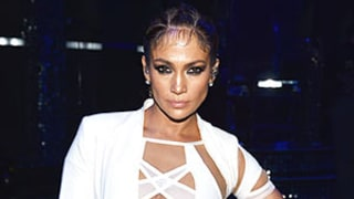 Jennifer Lopez, 46, Shows Off Amazing Figure in White Bodysuit, Announces Vegas Residency Details