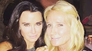 Kim and Kyle Richards Reunite, Spend