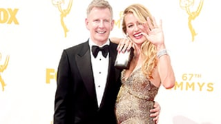 Pregnant Cat Deeley Shows Off Baby Bump on the Emmys 2015 Red Carpet: Photos!