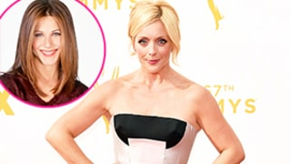 Jane Krakowski Reveals She Auditioned for Rachel Green on Friends During Emmy 2015 Red Carpet
