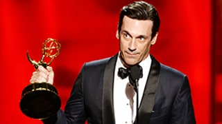 Jon Hamm Thanks Ex-Girlfriend Jennifer Westfeldt in Emmys 2015 Best Actor Acceptance Speech