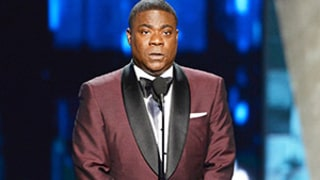 Tracy Morgan Makes Surprise Appearance at Emmys 2015 After Deadly Car Crash: Watch the Emotional Moment