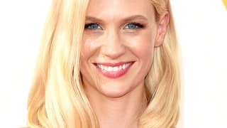 January Jones' Luminous Skin