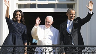 Pope Francis Makes First Visit to White House with President Obama: Photo