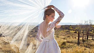 Allison Williams Whips Her Veil Back and Forth in the Latest Stunning Photo From Her Wedding