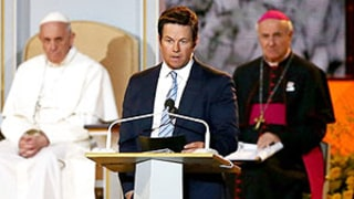 Mark Wahlberg Makes Joke About His Movie Ted in Front of Pope Francis, Asks for Forgiveness