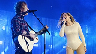 Beyonce, Ed Sheeran Jam Out to