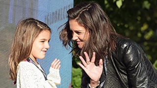 Suri Cruise, 9,  Joins Mom Katie Holmes on Stage at the Global Citizen Festival: See Her All Grown Up!