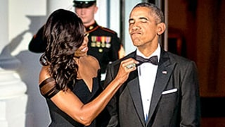 Michelle Obama Stuns in Custom Mermaid Gown: See the Photos!